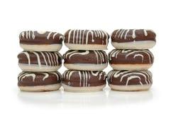 Galletas del chocolate foto de archivo libre de regalías