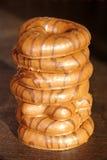 Galletas del chocolate Foto de archivo