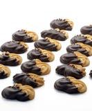 Galletas del chocolate Fotos de archivo libres de regalías
