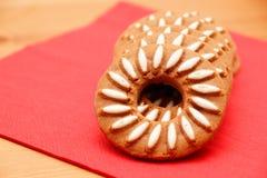 Galletas del chocolate Imagen de archivo libre de regalías