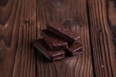 Galletas del chocolate Fotos de archivo