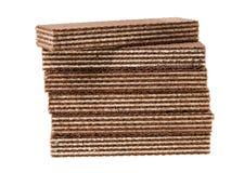 Galletas del chocolate, aisladas Imagen de archivo libre de regalías