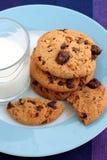 Galletas del chocolate con leche Imagen de archivo libre de regalías