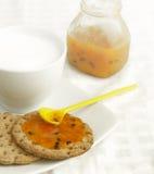 Galletas del desayuno Imagenes de archivo