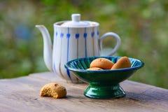 Galletas del dulce de la mantequilla Imágenes de archivo libres de regalías