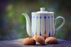 Galletas del dulce de la mantequilla Foto de archivo libre de regalías