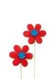 Galletas del gastrónomo de la flor Imagen de archivo libre de regalías