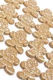Galletas del hombre de pan de jengibre Foto de archivo libre de regalías