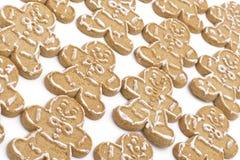 Galletas del hombre de pan de jengibre Fotografía de archivo libre de regalías