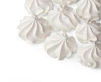 Galletas del merengue fotografía de archivo libre de regalías