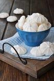 Galletas del merengue foto de archivo libre de regalías