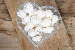 Galletas del merengue Imágenes de archivo libres de regalías