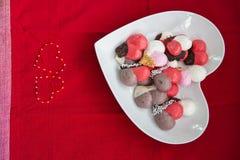 Galletas del merengue Fotos de archivo