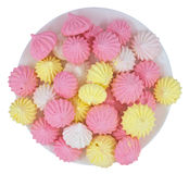 Galletas del merengue Foto de archivo