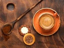 Galletas del offee y del chocolate del ¡de Ð Fotografía de archivo