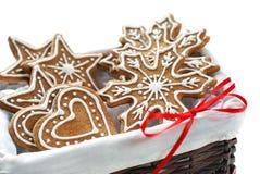 Galletas del pan de jengibre Imágenes de archivo libres de regalías