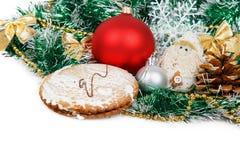 Galletas del pan de jengibre Fotografía de archivo libre de regalías