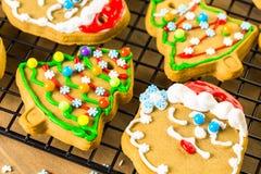 Galletas del pan de jengibre imagen de archivo libre de regalías