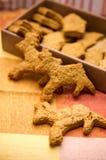 Galletas del reno Imagen de archivo libre de regalías