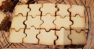 galletas del rompecabezas imagen de archivo libre de regalías
