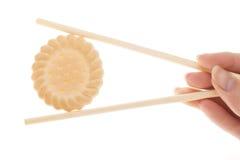 Galletas del sushi Imagenes de archivo