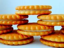 Galletas deliciosas para el desayuno Imágenes de archivo libres de regalías