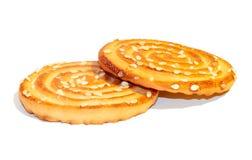 Galletas dulces Imagen de archivo libre de regalías