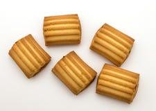Galletas dulces aisladas imagen de archivo libre de regalías