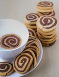 galletas espirales Imagen de archivo libre de regalías
