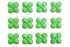 galletas formadas trébol Fotos de archivo