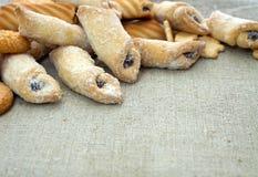 Galletas frescas Foto de archivo libre de regalías