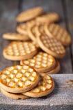 Galletas frescas de la miel fotos de archivo libres de regalías