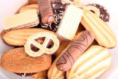 Galletas, galletas, tortas Fotos de archivo