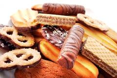 Galletas, galletas, tortas Fotografía de archivo