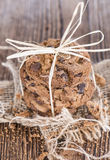 Galletas hechas en casa Foto de archivo libre de regalías