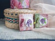 Galletas hechas en casa Imagen de archivo libre de regalías