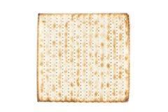 Galletas kosher hechas en casa del Matzo Fotografía de archivo