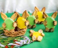 Galletas para Pascua fotos de archivo libres de regalías