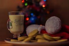 Galletas para Santa Foto de archivo libre de regalías
