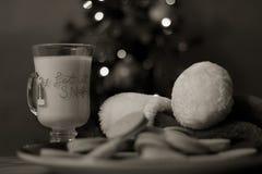 Galletas para Santa Fotografía de archivo
