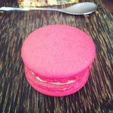 Galletas rosadas Foto de archivo libre de regalías