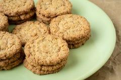 Galletas sabrosas de las galletas Pila de galletas de las galletas de azúcar Fotografía de archivo libre de regalías