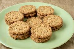 Galletas sabrosas de las galletas Pila de galletas de las galletas de azúcar Fotos de archivo libres de regalías