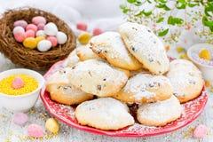Galletas suaves de la receta de Pascua Imagen de archivo libre de regalías