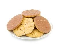Galletas y galletas Fotografía de archivo libre de regalías