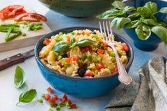 Galletti pasta salad Stock Photos