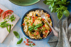 Galletti pasta salad Royalty Free Stock Images