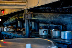 Galley in the Battle Ship Texas. Battle Ship Texas National Monument Houston Royalty Free Stock Image