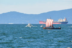 Galley boat, Vancouver, British Columbia, Canada Royalty Free Stock Photo