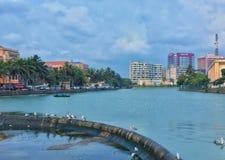 Gallface di Colombo Fotografia Stock